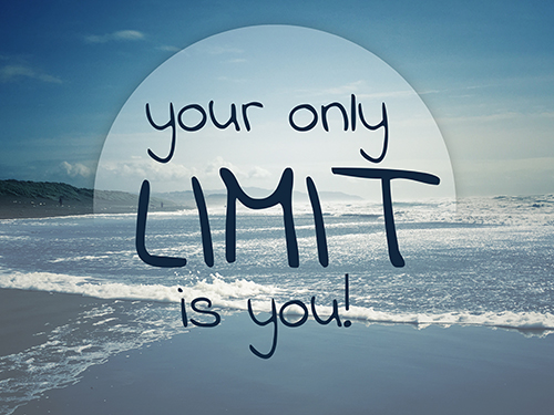 Removing limiting factors – thinking differently